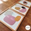 set-de-cuadros-abstractos-posters